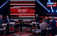 Пропагандист Куликов грубо обругал матом политолога Окару из-за Тимошенко в эфире у Соловьева