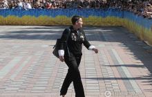 """""""Держать марку"""", - Савченко появилась на инаугурации с орденами на груди"""