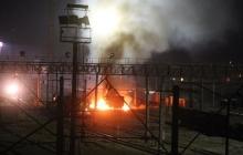 В ночь на 15 февраля на Харьковщине произошел взрыв на железнодорожной подстанции