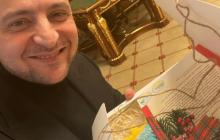 Зеленский в Интеренете показал подарок из Нью-Йорка