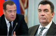 """Медведев не сдержался, отвечая на слова Данилова о России: """"Странное су**ство"""""""