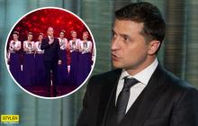 """Зеленский дал комментарий о скандальном выступлении """"95-го квартала"""" с академическим хором Веревки"""