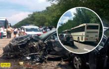 Авария охраны кортежа Зеленского и автобусов с детьми: стало известно, что произошло на месте ДТП
