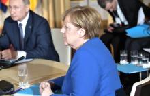 Путин и Меркель обсудили Украину за спиной у Киева