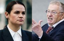 Тихановская вывела из себя Жириновского: лидер ЛДПР в ответ призвал Лукашенко выкрасть и повесить ее