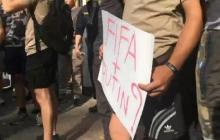 Скандал вокруг Виды набирает обороты: в Киеве бойцы нацдружин окружили посольство Хорватии - кадры