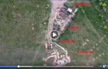 Боевики хаотично убегают, российская техника горит: кадры ликвидации позиции сепаратистов на Донбассе