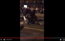 В России силовики жестоко избили дубинками футбольного фаната после победы над Испанией: видео потрясло Сеть