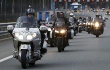 """""""Ночные волки"""" пересекают границу Польши. Прямая трансляция"""
