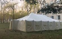 Пандемия в Харьковской области: Нацгвардия устанавливает палатки для больных опасным вирусом, детали