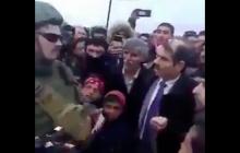 """Видео, как """"российский офицер"""" в Сирии призвал боевиков к войне против США: это закончилось плохо"""