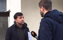 Почему Зеленский зарабатывает деньги на бизнесе в России: комик не смог ответить и скрылся от журналиста - кадры