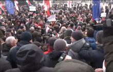 """В Минске тысячи вышли против """"Союзного государства"""" - кадры народного протеста"""