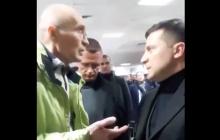 """""""Ну подпишите"""", - Зеленского в """"Борисполе"""" поймали активисты из-за Кличко"""