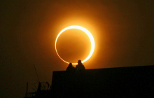 """Жителей Земли ждет впечатляющее небесное зрелище - """"огненное кольцо"""""""