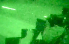 """Видео огневой подготовки спецназа ООС к ночной """"вылазке"""" на Донбассе попало в Интернет"""