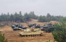 """НАТО мощно отстрелялось """"Абрамсами"""" рядом с границей России: появились невероятные кадры"""