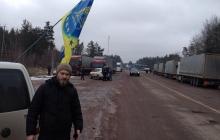 На границе с Беларусью в Житомирской области заблокировано более 100 российских грузовиков