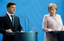 """""""Рядом со мной она была в безопасности"""", - Зеленский высказался об инциденте с Меркель – подробности"""