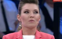 """Кошевой """"разгромил"""" Скабееву так, что пропагандистка Путина чуть не плакала в прямом эфире: кадры"""
