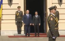 Официальный визит Нетаньяху начался - кадры встречи с Зеленским