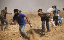 """""""Великое шествие"""" на границе сектора Газа: количество пострадавших превысило 2000"""