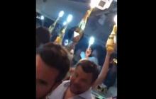 Глава ОП Богдан с полуголыми девушками выносит шампанское под гимн Украины в День Независимости: СМИ показали видео