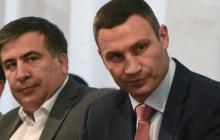 Саакашвили отказал Кличко – тот ему грубо ответил: детали