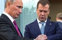 """""""Медведева подставили. Он расстроился и запил. Путин снова использовал его как """"мальчика для битья"""", - социолог"""