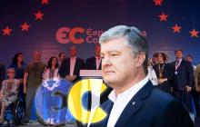 """Выборы 2020: результаты партии Петра Порошенко """"Европейская Солидарность"""""""