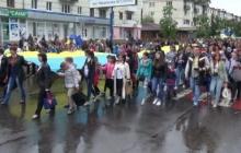 Это вам не покажут российские пропагандисты: масштабно и торжественно день вышиванки отметили в Луганской области (видео)