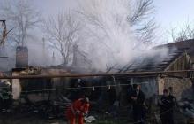 В Кривом Роге пожар полностью уничтожил дом: много погибших, найдены тела детей - кадры