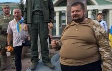 В Северодонецке Ляшко снес памятник Ленину