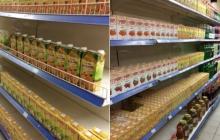 """""""Зато биндер нету"""", - соцсети хохочут над """"обилием"""" товаров в супермаркете оккупированного Донбасса"""