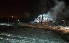 Крушение вертолета в Полтавской области: случайный очевидец трагедии снял видео происшествия – кадры