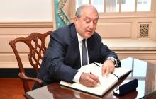 Президент Армении из-за Нагорного Карабаха срочно выехал в Брюссель