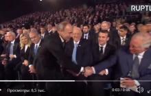 """""""Отвернул голову"""", - реакция принца Чарльза на рукопожатие с Путиным удивила Сеть - видео"""