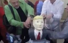 """В Симферополе пропагандисты Кремля """"отомстили"""" Трампу за санкции: соцсети взорвало видео """"расправы"""""""