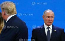 """Кадры с """"обиженным"""" Путиным на G20 """"рвут"""" соцсети: """"Поматросил Трамп и бросил"""""""