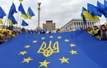 Украинцы сделали свой выбор: по данным социологов большая часть жителей страны выступает за присоединение к Европейскому Союзу