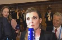 Гимн Украины в прямом эфире на росТВ: украинская делегация красиво заткнула кремлевскую пропагандистку Скабееву
