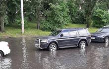 """Киев залил мощный ливень: на улицах столицы начался """"погодный кошмар"""" - кадры"""