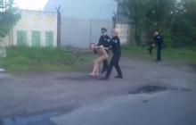 Безумная погоня в Кременчуге: голая женщина убегала от полицейских