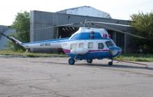 В Кременчуге разбился вертолет Ми-2 с тремя членами экипажа на борту