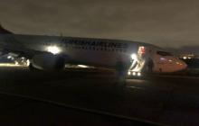 """В Одессе аварийно сел турецкий """"Боинг"""" - появились кадры срочной эвакуации пассажиров"""