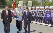 Как Эрдоган встретил Зеленского в Анкаре - видео