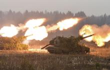 """""""Азов"""" нанес шквальный контрудар по позициям боевиков на Светлодарской дуге - уничтожена техника, подорван опорный пункт"""