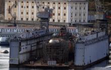 В Крыму затонула российская подлодка с ремонтным доком: что произошло - фото
