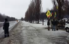 Сумы и Чернигов присоединяются к акции блокады российских фур на территории Украины
