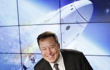 """""""Спасибо, сэр, ха-ха"""", - Маск на русском оригинально ответил Рогозину после исторического запуска Crew Dragon"""